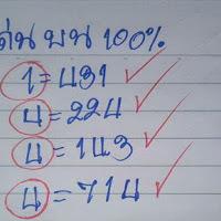 หวยเลขเด่นบนตัวเดียว มาแน่100% งวด 16/10/60