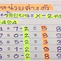 เลขเด็ดหน่วยล่างตัวเดียวแม่นๆ งวด 17/01/61 (สถิติกำลังเดินดี)