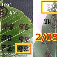 ไม่ต้องรอเเล้ว เลขดังเลขเด็ด หวยใบโพธิ์ บน-ล่าง งวดวันที่ 2/05/61