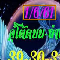 มาเเล้ว เลขเด็ดนางฟ้า งวดวันที่ 1/06/61