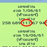 แม่นมากเลขเด็ด เลขด่วน บน-ล่าง งวดนี้ 16/6/61 เขาบอกว่าห้ามเเชร์เดี๋ยวดัง!!