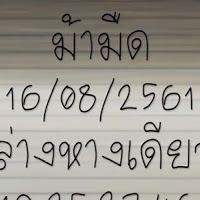 หวยม้ามืด สรุปชุด 2ตัวล่างหางเดียว งวดนี้ 16/08/61