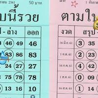 แม่นมาหลายงวด หวยซอง ตามใบนี้รวย งวดวันที่ 1/09/61 ชุดบนล่าง