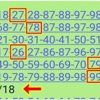 เลขเด็ดสองตัวล่าง @ กิ้งกือนำโชค งวดวันที่ 16/10/61 สถิติดี 6งวดซ้อน