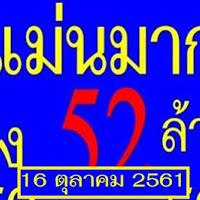 ห้ามพลาด เลขเด็ด หวยแม่นมาก งวดวันที่ 16/10/61