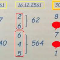 หวยเด็ด หวยทำมือ สามตัวบน สองตัวล่าง งวดวันที่ 30/12/61