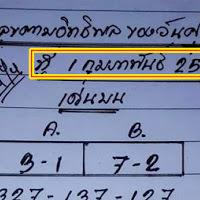รออยู่ใหมมาเเล้ว  หวยเด็ด เลขตามอิทธิพล ของวันศุกร์ งวดวันที่ 1/2/62