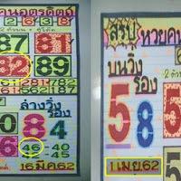 เลขดัง หวยคนอุตรดิตถ์ สรุปบน-ล่าง งวดวันที่  1/4/62