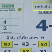 หวยเด็ด หวยไทยรัฐ ฉบับแปลจับเลข งวดวันที่ 1/8/62