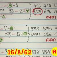 ห้ามพลาด! สูตรเลขเด็ด หวยชุดสามตัวบนแม่นๆ งวดวันที่ 16/8/62