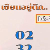 เลขเด็ดเซียนอยู่ตึก 2 ตัวบนล่าง งวดวันที่ 16/8/62