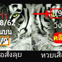 หวยเสือสั่งลุย แนวทางเลขเด่นบน วิ่งบนแม่นๆ งวดวันที่ 1/09/62